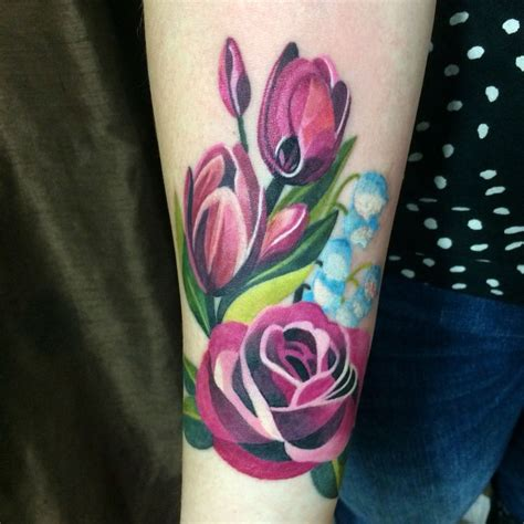 tulip and rose tattoo 2037 best general images on cool
