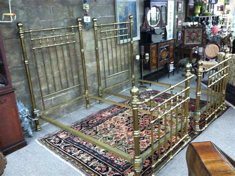 antique iron beds for sale gorgeous pair of antique heavy brass iron twin beds