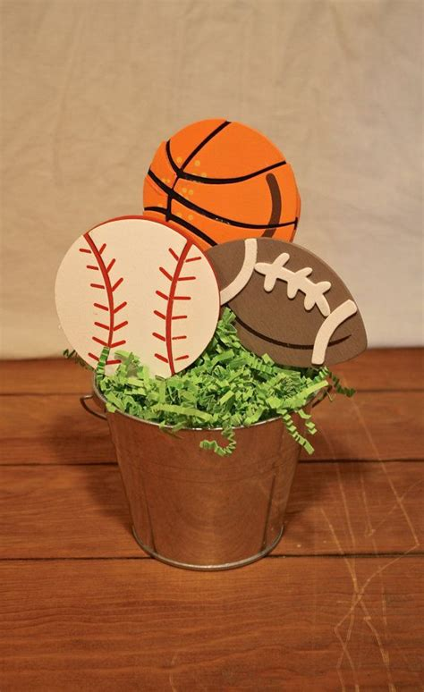 sports themed centerpieces 25 best ideas about sports centerpieces on
