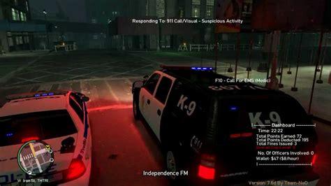 mod gta 5 xbox 360 police gta iv police pursuit mod youtube