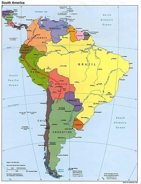 imagenes satelitales america del sur mapa sudamerica youtube