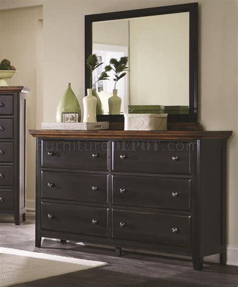 coaster 5 pc kimball collection contemporary style black mabel 203151 5pc bedroom set in black brown by coaster w
