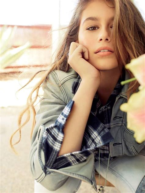 famous 13 year olds 2015 cindy crawford s daughter kaia gerber models for teen