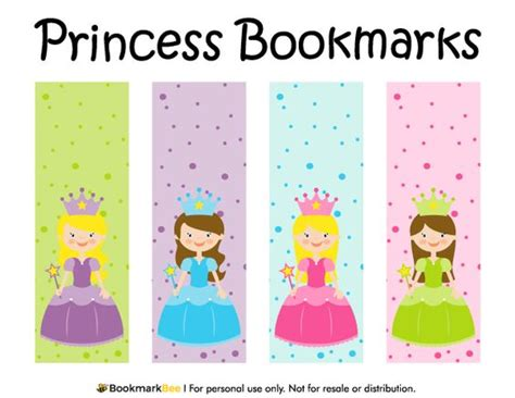 printable bookmarks pdf bookmarks free printable and princesses on pinterest
