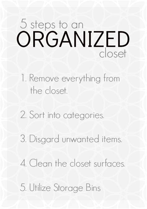 six steps to organize your closet in one weekend north five steps to organizing your closet tauni co