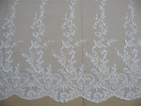 white beaded lace aliexpress buy luxury customize white white