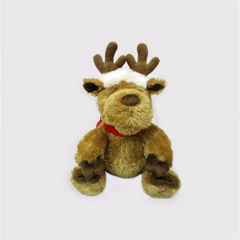 singing reindeer toy buy online at qd stores