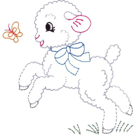 embroidery design lamb 289 best baa by room images on pinterest letters