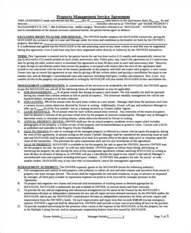 management services agreement template it systems hr management