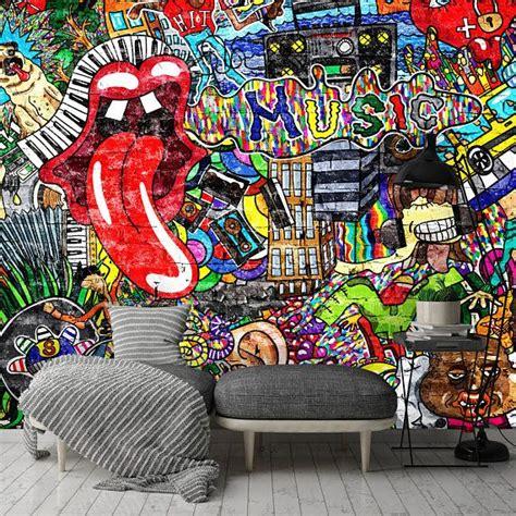 removable wallpaper mural peel stick  adhesive