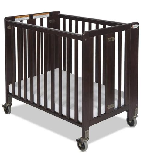 Cot Cto Car Table Organiser 1 foundations hideaway sized folding crib antique cherry 1011852 nurzery