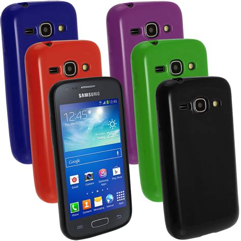 Casing Samsung Ace 3 Glossy Tpu Gel Skin Cover Holder For Samsung Galaxy Ace 3 S7275 Screen Prot Ebay