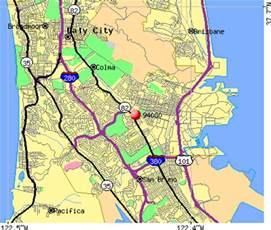 South San Francisco Map by 94080 Zip Code South San Francisco California Profile