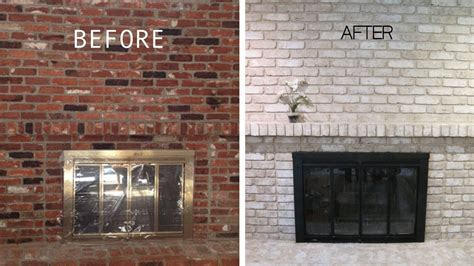 Painting Brick by Should I Paint My Brick Fireplace