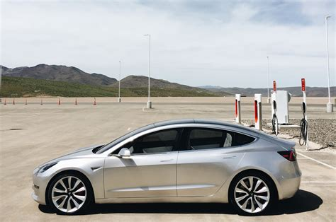 Tesla In Exclusive Tesla Model 3 Photo Shoot At The Gigafactory