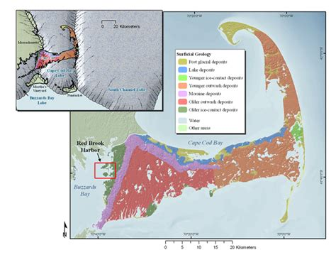 geology of cape cod u s geological survey open file report 2010 1091 high