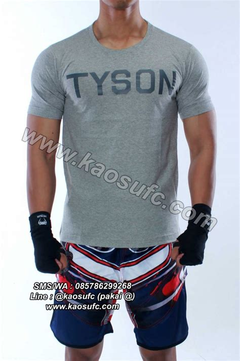 jual t shirt boxing mike tyson order via sms wa 085786299268 grosir tutorial