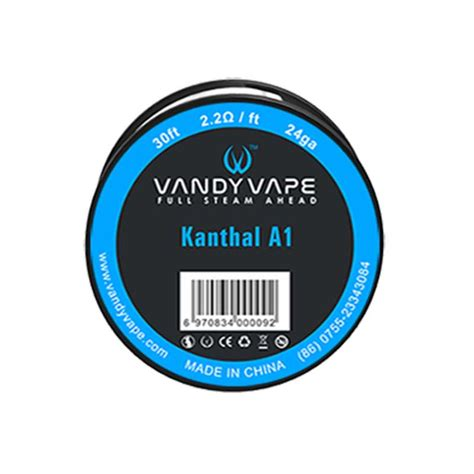 Vape Kanthal A1 24ga 30 Vandy Vape Wire Kanthal A1 24ga Cigis Y Punto