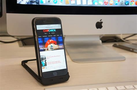 Will The Real Iphone Stand Up Chip by Chromo 3 In 1 Iphone 6 Charging And Stand Review
