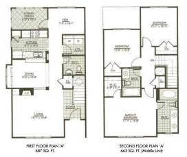 3 bedroom 2 story house plans modern town house two story house plans three bedrooms rugdots com