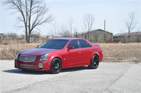 2005 cadillac cts hp find used no reserve low cts v ctsv 420 hp