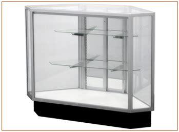 Showcase Rsa Vision 221 34 quot outside corner showcase white panel door american hanger fixture