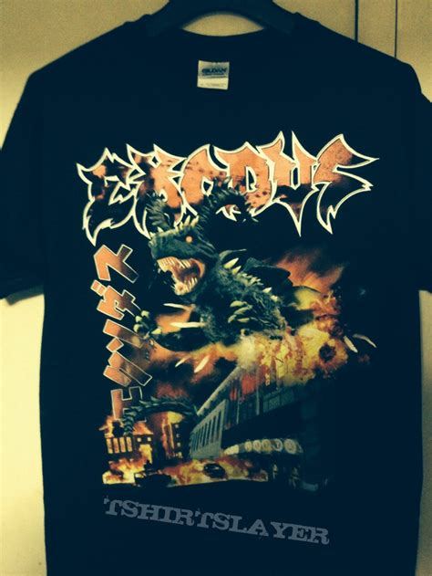Tshirt Kawasaki Club C3 exodus goat godzilla is destroying club citta kawasaki t shirt tshirtslayer tshirt and