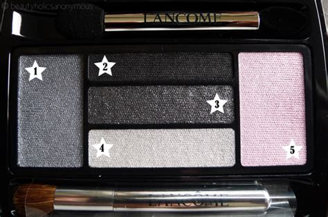Lancome Hypnose Drama 5color Palette Smoky fotd featuring alber elbaz for lancome beautyholics anonymous
