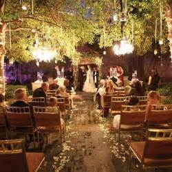 Outdoor Backyard Wedding Reception Ideas by Sunset Garden Ceremony Wedding Pinterest