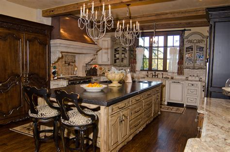 tudor estate traditional kitchen oklahoma
