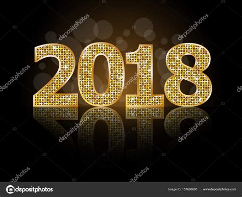 new year 2018 jewellery happy new year 2018 stock vector 169 ferdiperdozniy 157698600