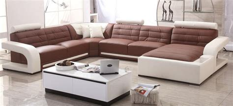 Modern Sofa Set Designs Images by Aliexpress Buy Modern Sofa Set Leather Sofa With