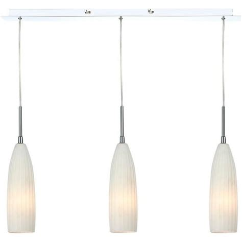 Fluted Glass Pendant Light Plymouth 3 Light Bar Pendant Light With Fluted Glass Shades Ply032 Lighting From The Home