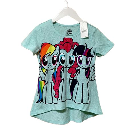 my pony t shirt cotton sleeve 4 8y
