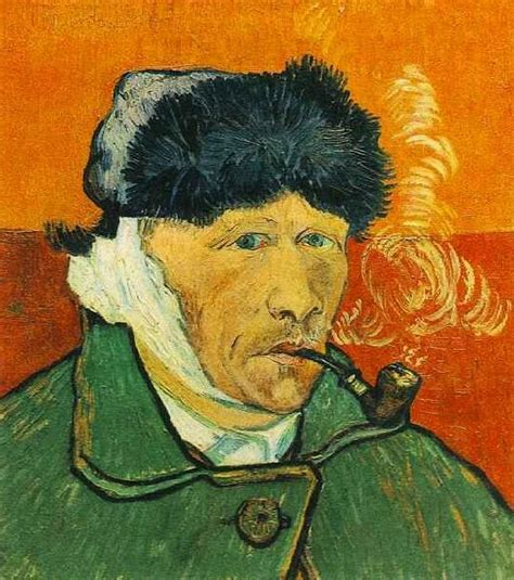 van gogh ear vincent van gogh self portrait