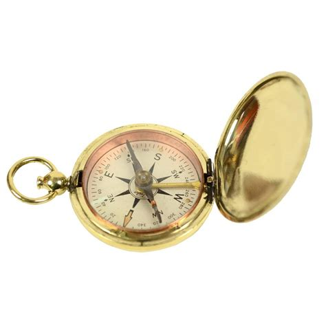 the brass compass small brass compass made in the usa at 1stdibs