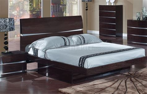 Wenge Furniture Bedroom Bedroom Set In Wenge Finish By Global Furniture