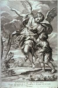 the guardian angel after carlo maratta pietro aquila