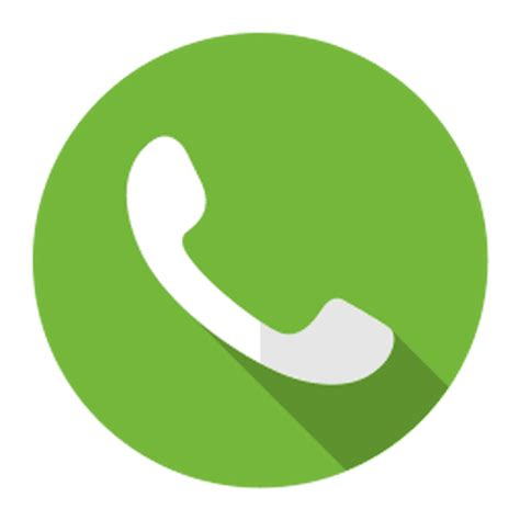 telephone call icon logo transparent png svg vector file