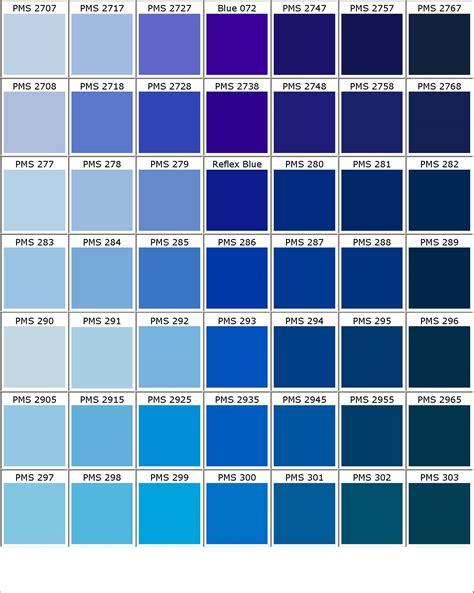 shades of blue color chart blue black hair color charts and colors on pinterest idolza