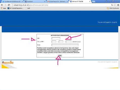 tutorial onlaine ut yuk simak 10 langkah aktivasi tutorial online pokjar