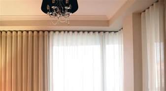 Plantation Style Home wavefold curtains kresta australia