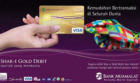 buat kartu kredit mandiri syariah kartu kredit bank syariah muamalat