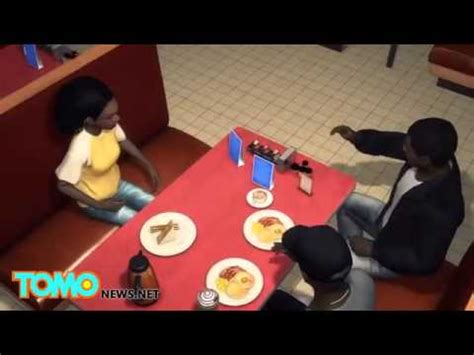 waffle house fight waffle house fight brave customer stands up to man who