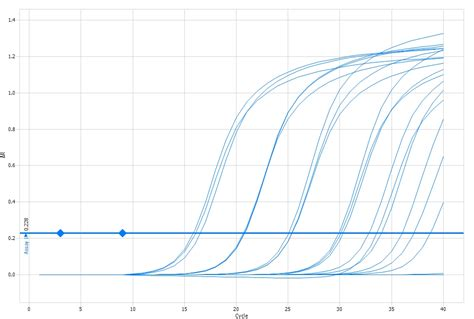 qpcr template low efficiency of qpcr
