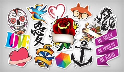 Sticker Stiker Tato Butterflytemporary 1 stickers stickeryou products