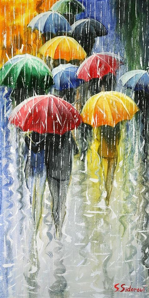 umbrella painting i see you laughing at the that hits your with