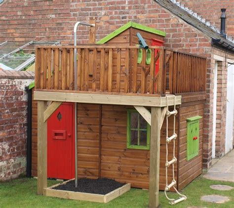 Childrens Wooden Sheds by 25 Best Ideas About Childrens Wooden Playhouse On