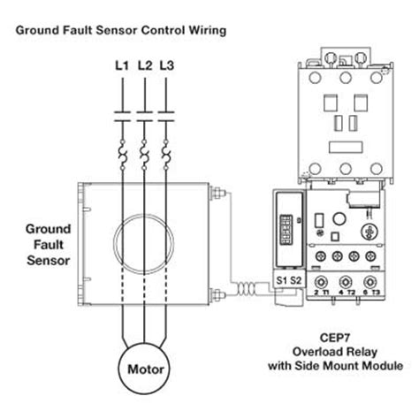 ground fault relay wiring diagram efcaviation