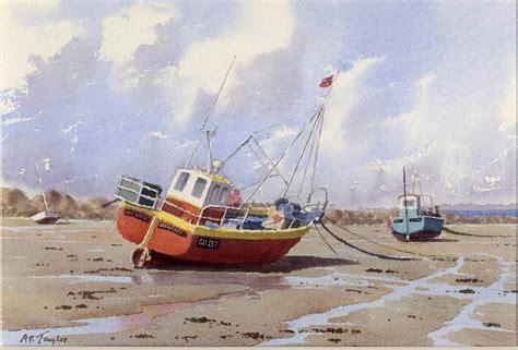 fishing boat artists watercolor boats google search boats pinterest